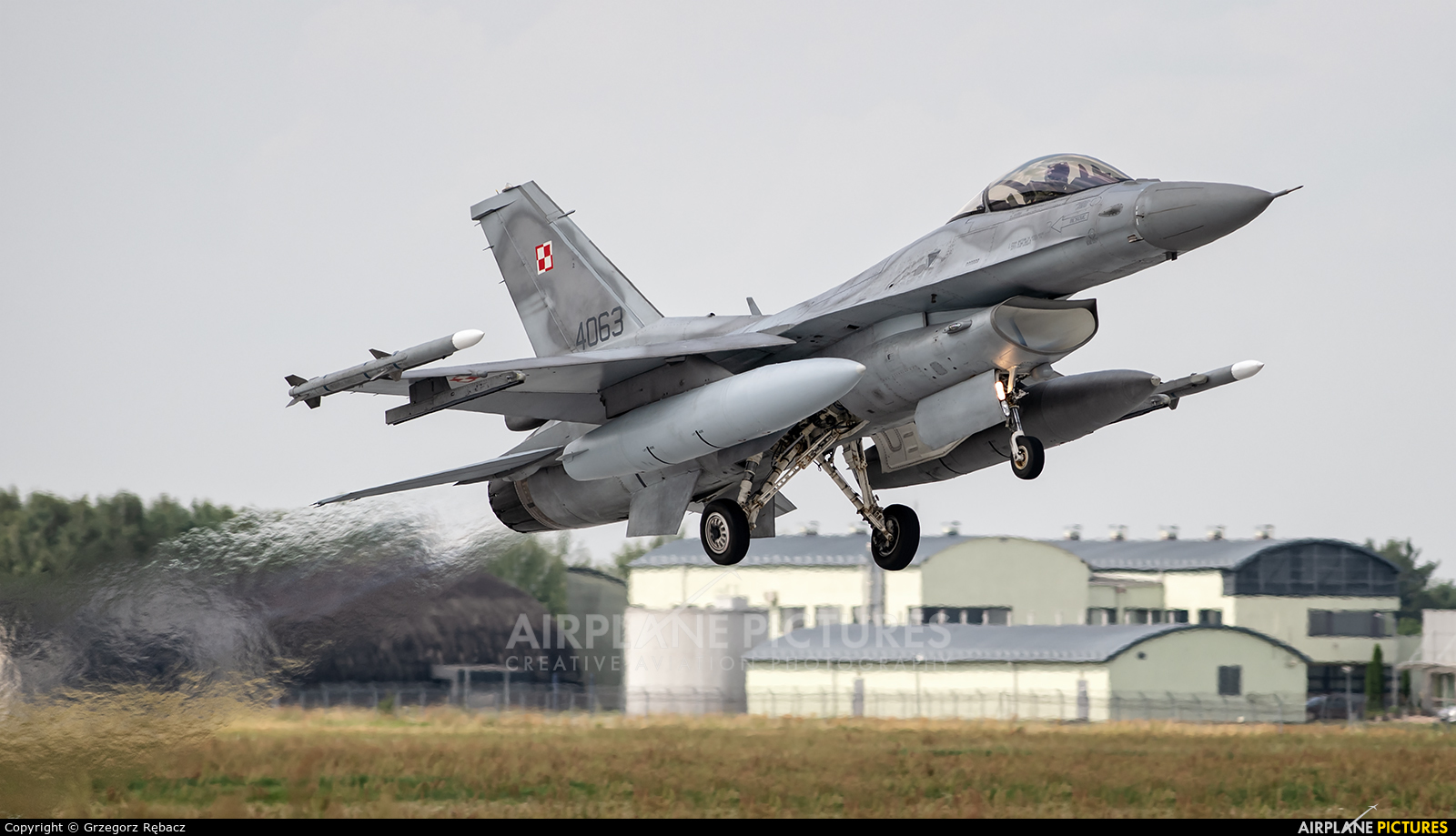 Poland - Air Force 4063 aircraft at Łask AB