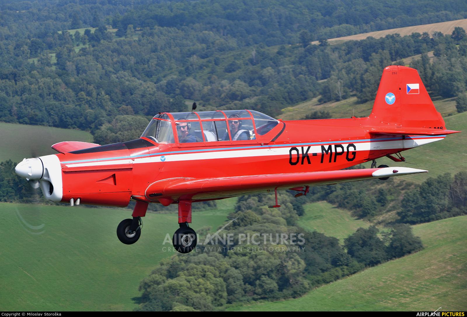 Aeroklub Vyskov OK-MPG aircraft at In Flight - Slovakia