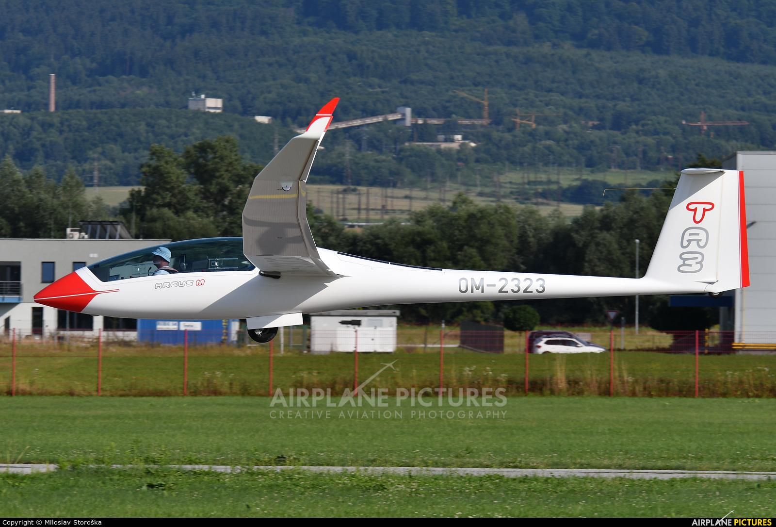 Private OM-2323 aircraft at Prievidza