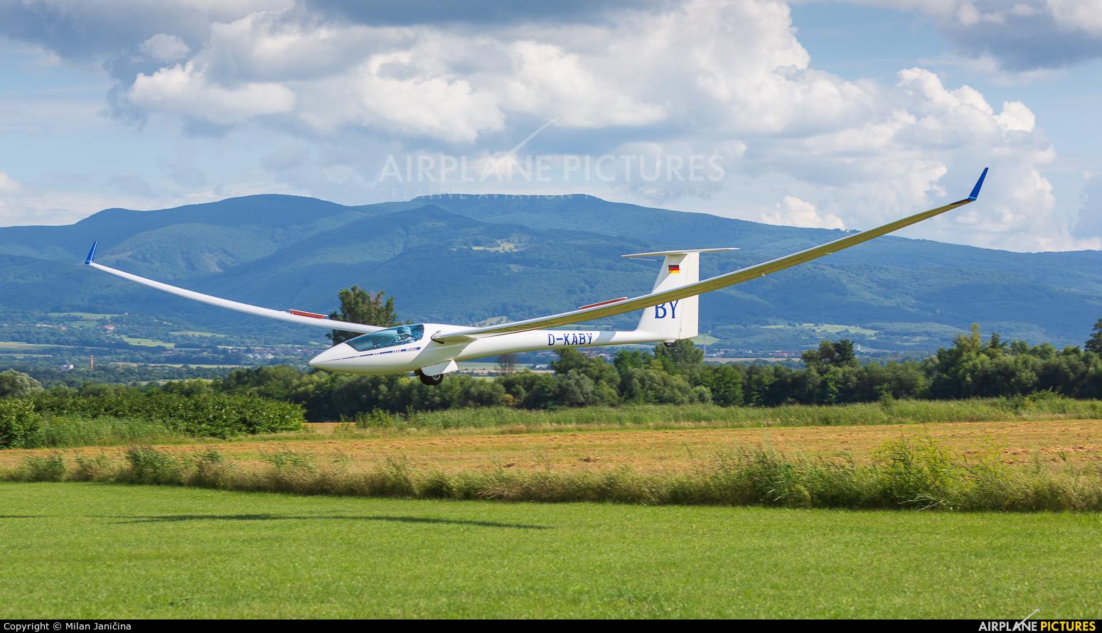 Private D-KABY aircraft at Prievidza