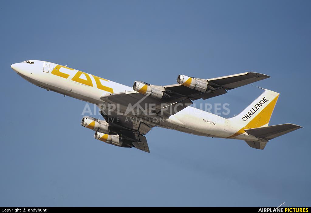 Challenge Air  N707HE aircraft at Miami Intl