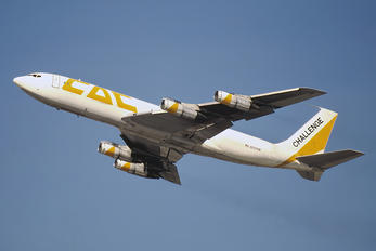 N707HE - Challenge Air  Boeing 707-300