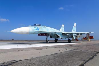 36 - Russia - Air Force Sukhoi Su-27SM