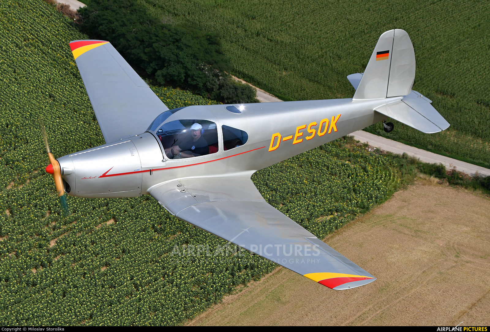 Private D-ESOK aircraft at In Flight - Slovakia