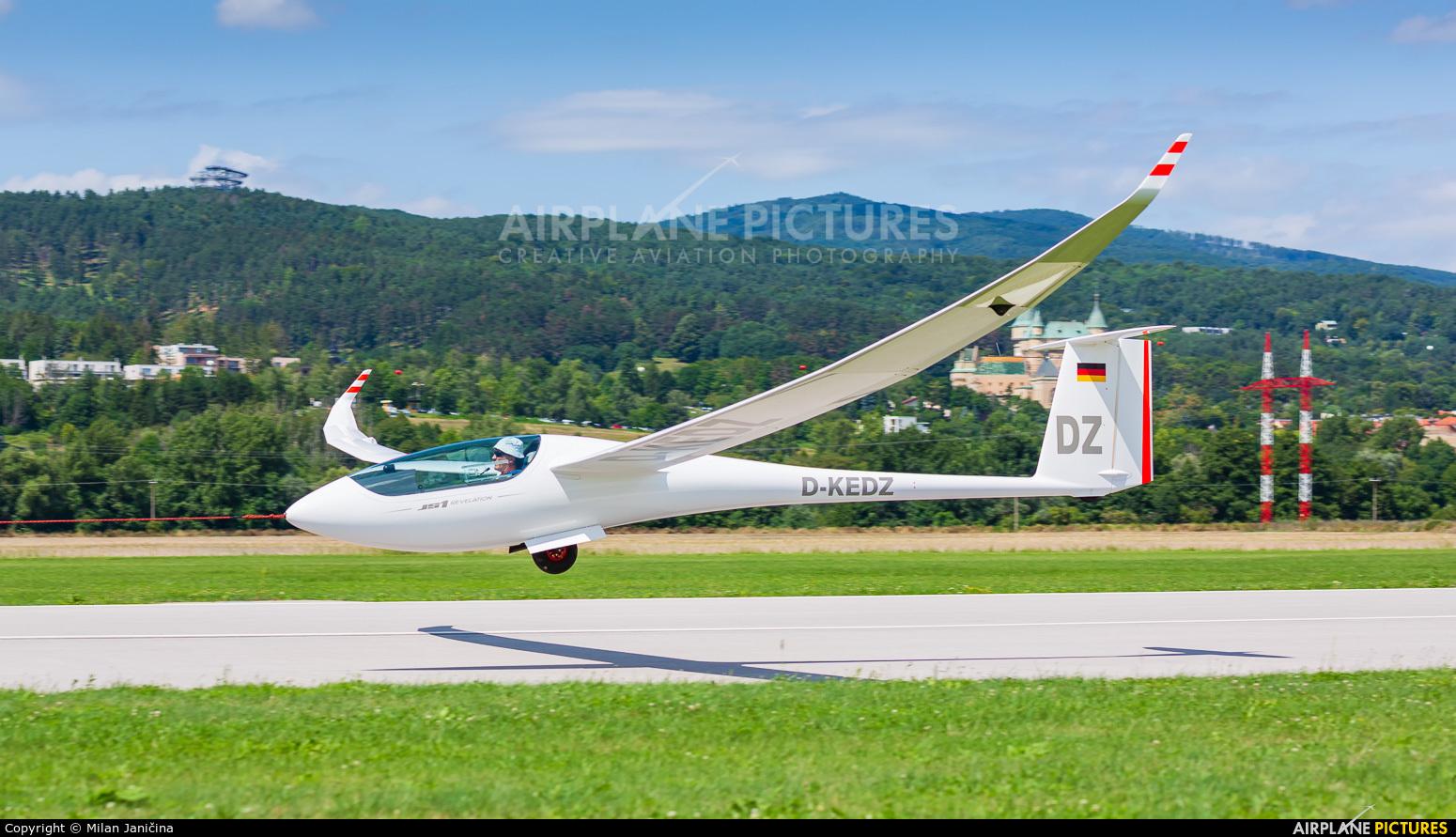 Private D-KEDZ aircraft at Prievidza