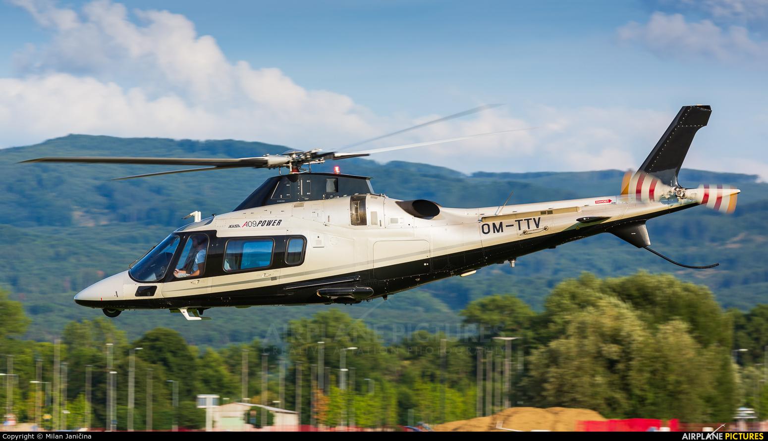 Tatra Jet Slovakia OM-TTV aircraft at Prievidza