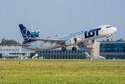 SP-LVF - LOT - Polish Airlines Boeing 737-8 MAX aircraft