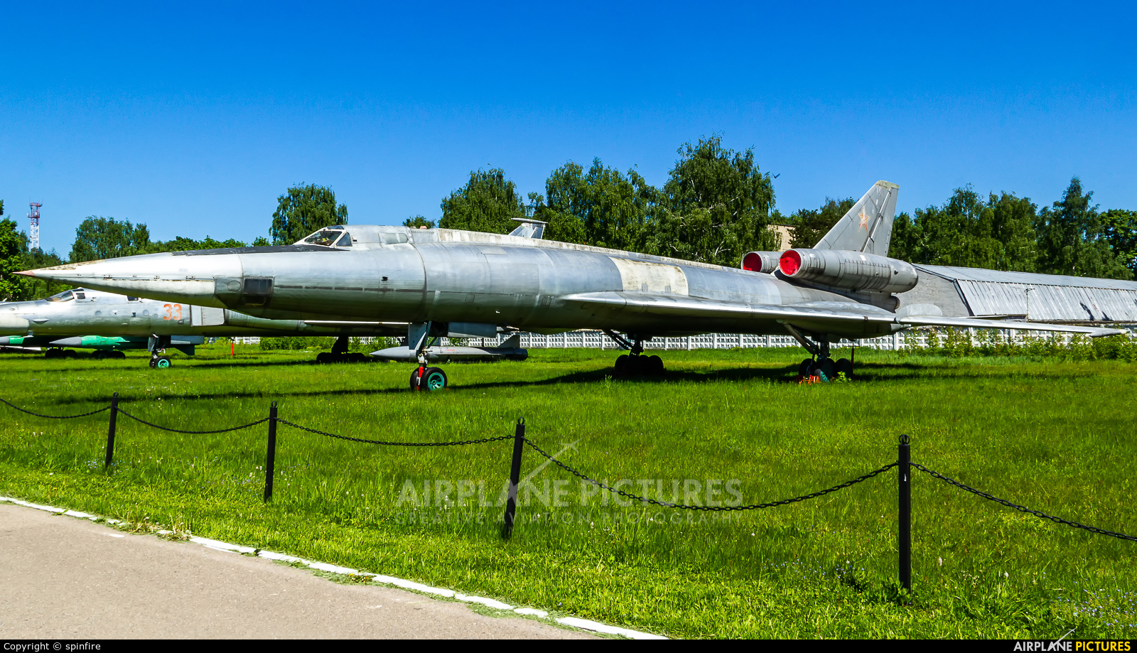 Russia - Air Force 32 aircraft at Monino Russian Air Force museum