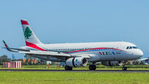 T7-MRF - MEA - Middle East Airlines Airbus A320 aircraft