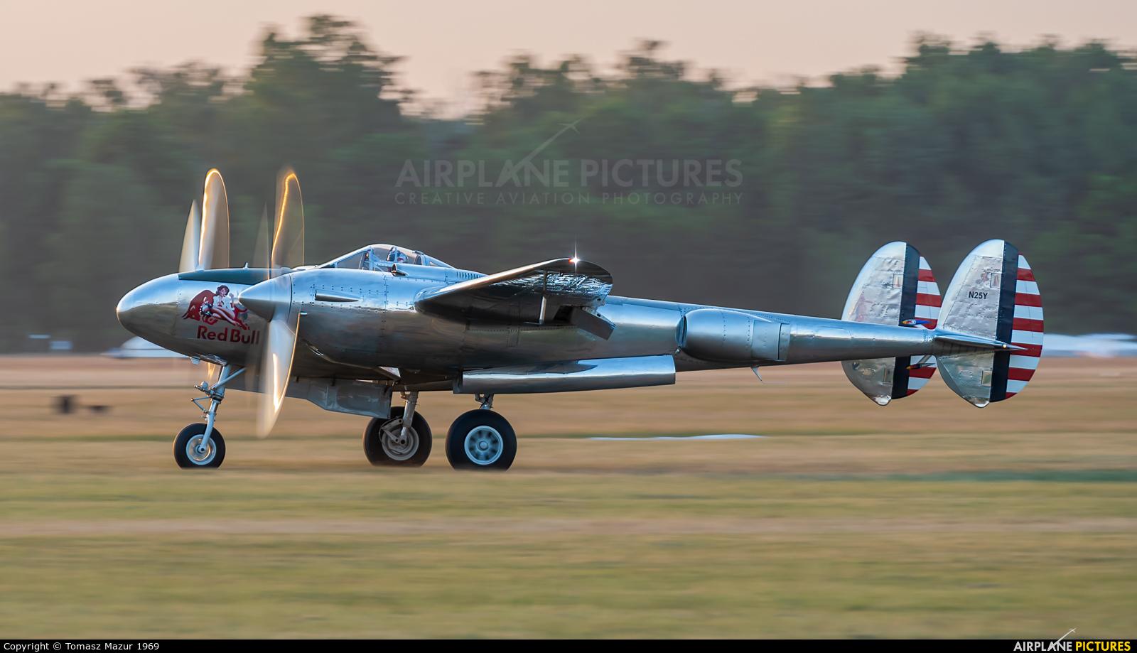 The Flying Bulls N25Y aircraft at Leszno - Strzyżewice