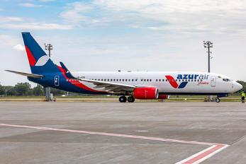 UR-AZG - Azur Air Ukraine Boeing 737-86J