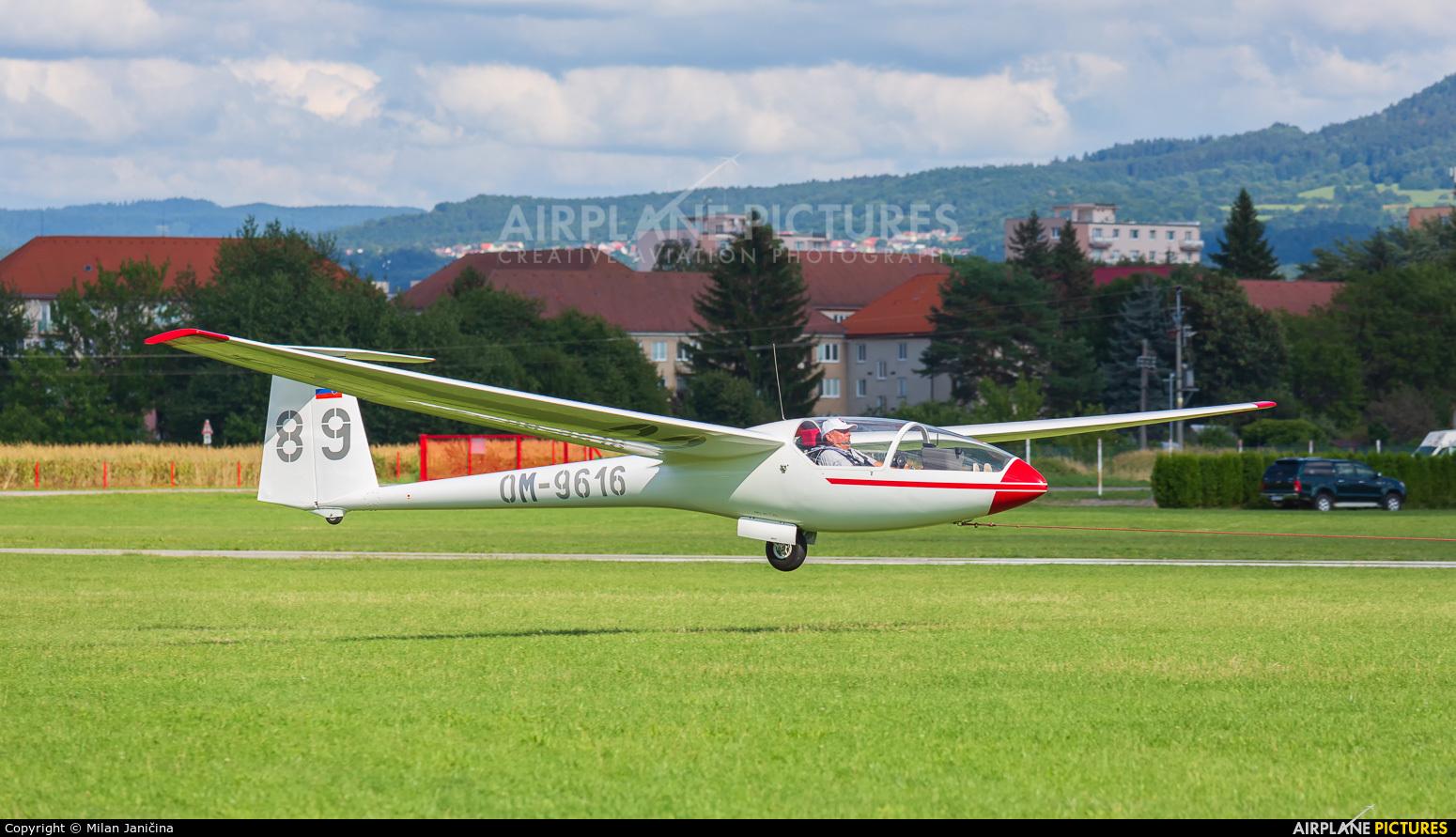 Aeroklub Prievidza OM-9616 aircraft at Prievidza