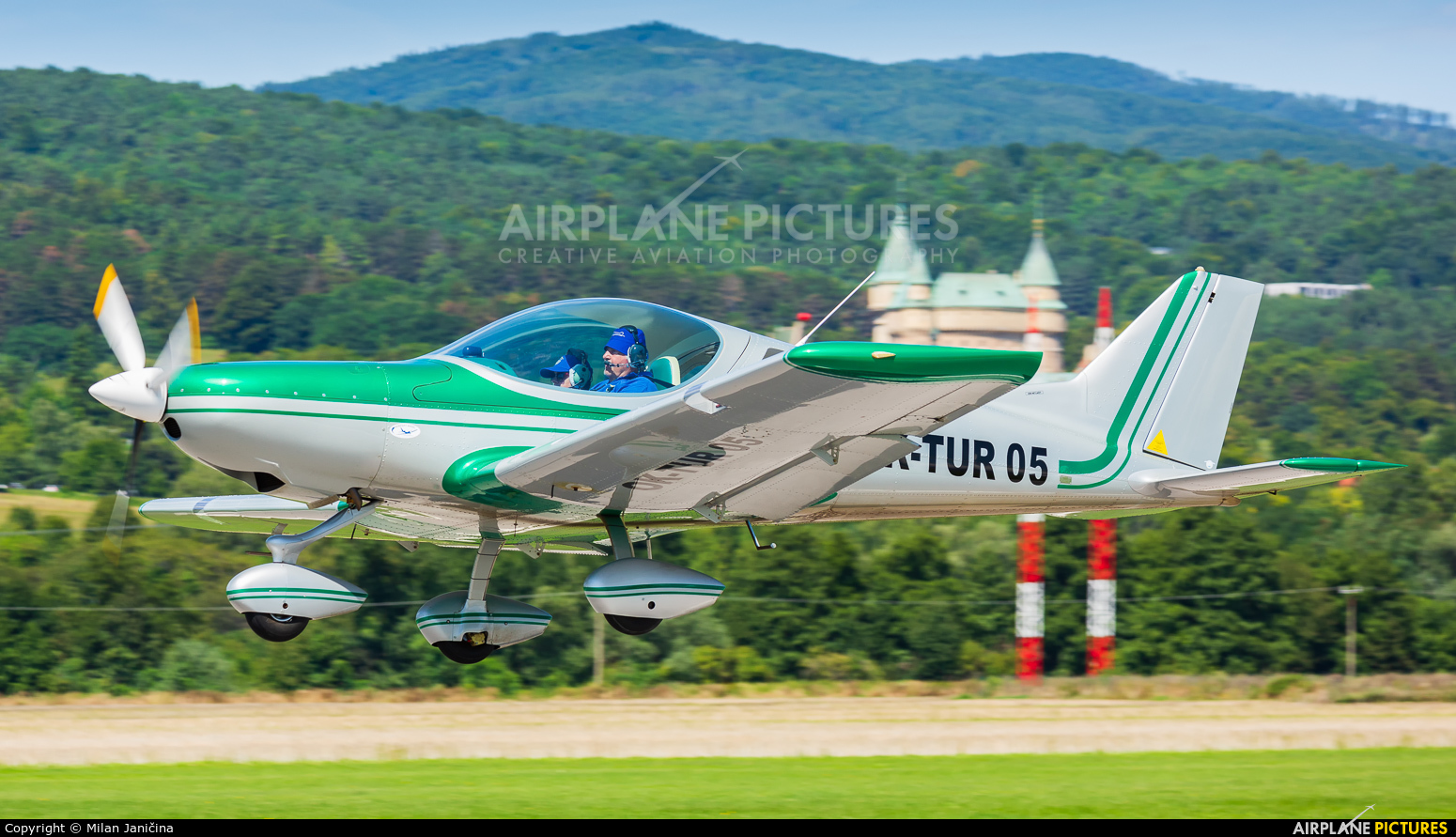 Private OK-TUR05 aircraft at Prievidza