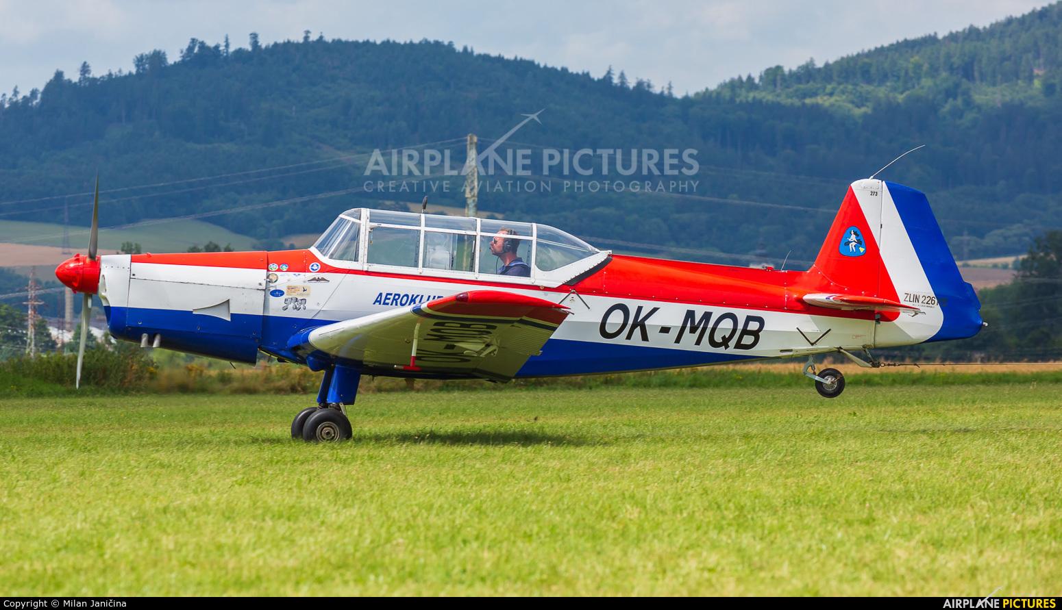 Aeroklub Šumperk OK-MQB aircraft at Šumperk