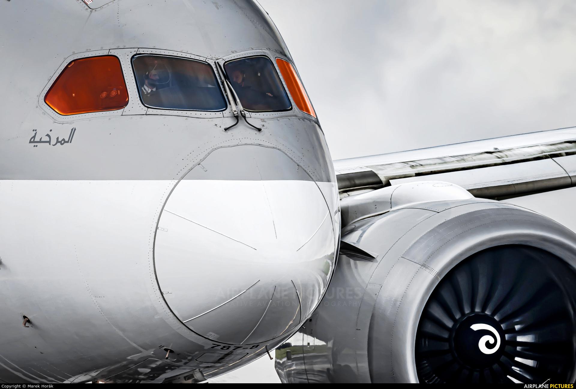 Qatar Airways A7-BCC aircraft at Prague - Václav Havel