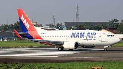 PK-NAJ - NAM Air Boeing 737-500