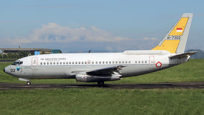 AI-7302 - Indonesia - Air Force Boeing 737-200