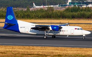 OB-1770P - Mongolia Airways Fokker 50