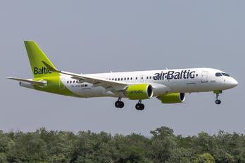 YL-AAZ - Air Baltic Airbus A220-300