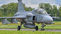 39827 - Sweden - Air Force SAAB JAS 39D Gripen aircraft