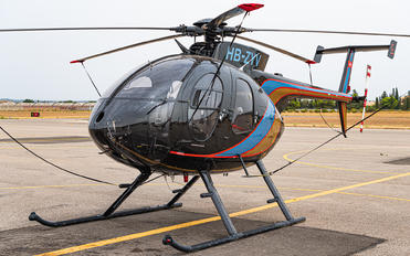 HB-ZYV - Private MD Helicopters MD-500E