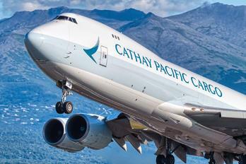 B-LJM - Cathay Pacific Cargo Boeing 747-8F