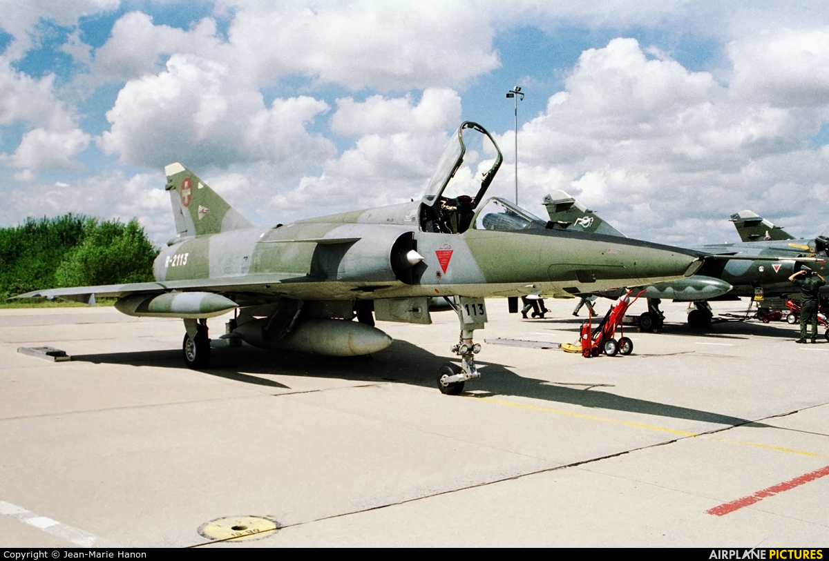 Switzerland - Air Force R-2113 aircraft at Florennes