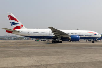 G-YMMO - British Airways Boeing 777-200