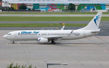 YR-BMS - Blue Air Boeing 737-800