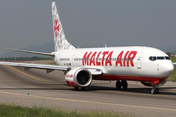 9H-VUD - Malta Air Boeing 737-8-200 MAX