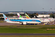 Rare visit of Neos B789 to Birmingham with refugees from Afghanistan title=