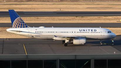N468UA - United Airlines Airbus A320