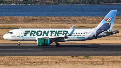 N309FR - Frontier Airlines Airbus A320
