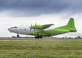 Rare visit of Cavok Air An12 to Prague title=