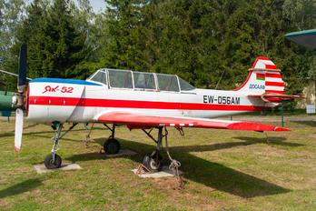 EW-056AM - Belarus - DOSAAF Yakovlev Yak-52