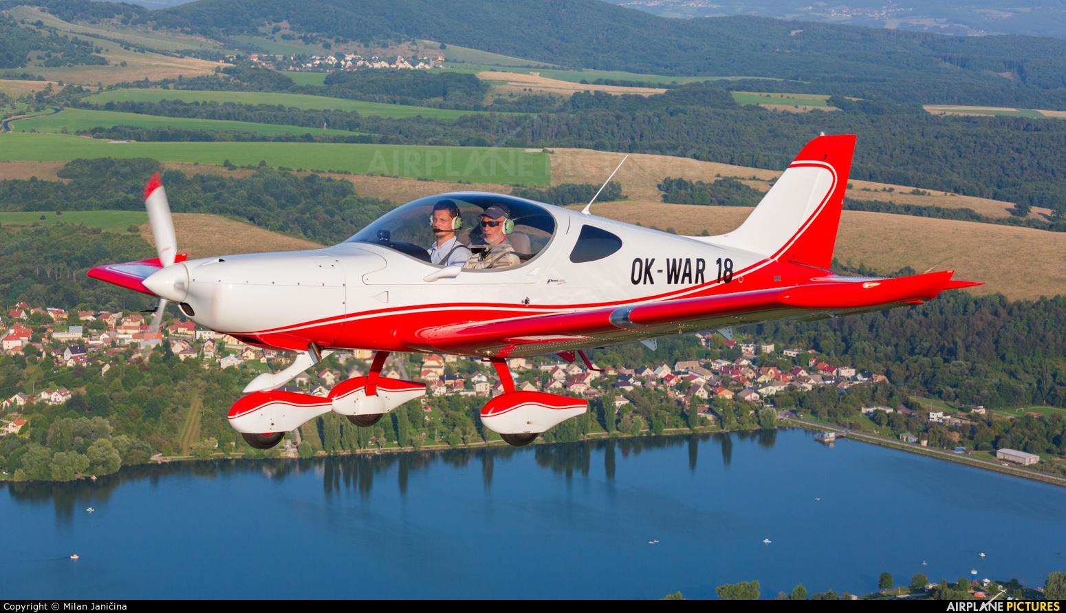 Aeroklub Praha Letnany OK-WAR18 aircraft at In Flight - Slovakia