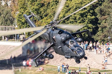 #1 Hungary - Air Force Mil Mi-24P 334 taken by Sandor Vamosi