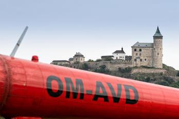 OM-AVD - UTair Europe - Airport Overview - Aircraft Detail