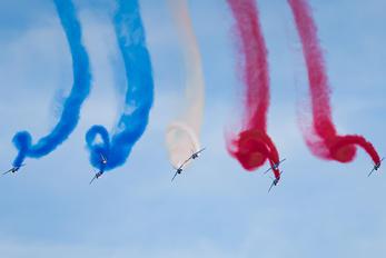 """E45 / 4 / F-TETF - France - Air Force """"Patrouille de France"""" Dassault - Dornier Alpha Jet E"""