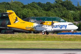 G-HUET - Aurigny Air Services ATR 42 (all models)