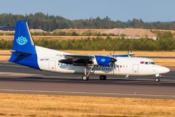 OB-177OP - Mongolia Airways Fokker 50