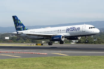 N644JB - JetBlue Airways Airbus A320