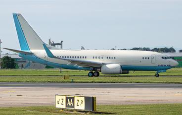 HL-8222 - Korean Air Boeing 737-700 BBJ