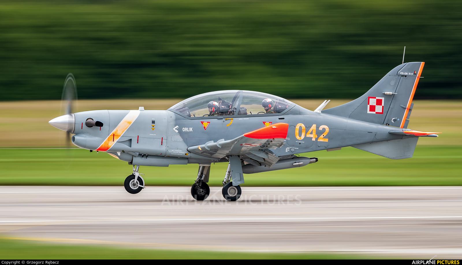 "Poland - Air Force ""Orlik Acrobatic Group"" 042 aircraft at Gdynia- Babie Doły (Oksywie)"