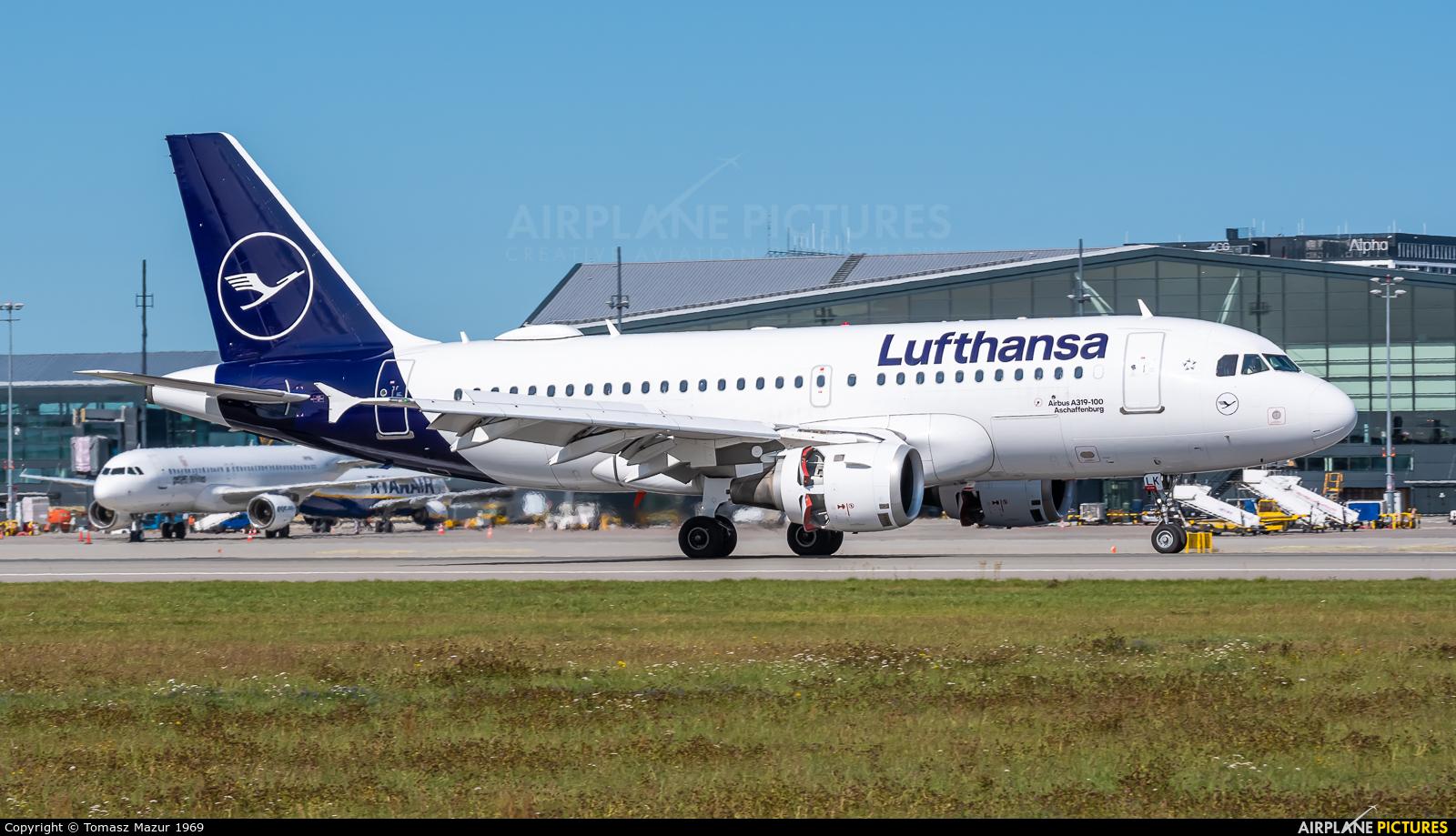 Lufthansa D-AILK aircraft at Gdańsk - Lech Wałęsa