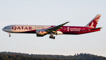 Three Qatari 777s visited Ramstein Air Base with people evacuated from Afghanistan title=
