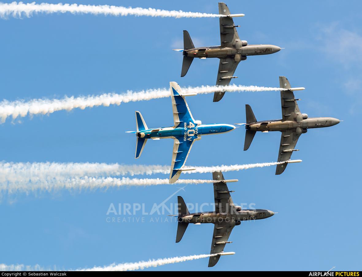 Finland - Air Force: Midnight Hawks HW-340 aircraft at Gdynia- Babie Doły (Oksywie)