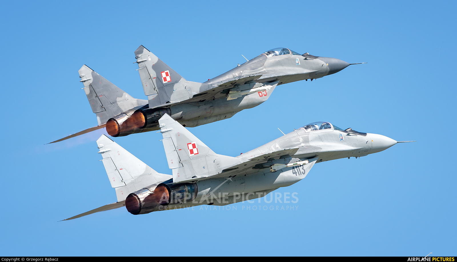 Poland - Air Force 4113 aircraft at Gdynia- Babie Doły (Oksywie)