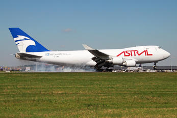 TF-AMU - Astral Aviation Boeing 747-400F, ERF