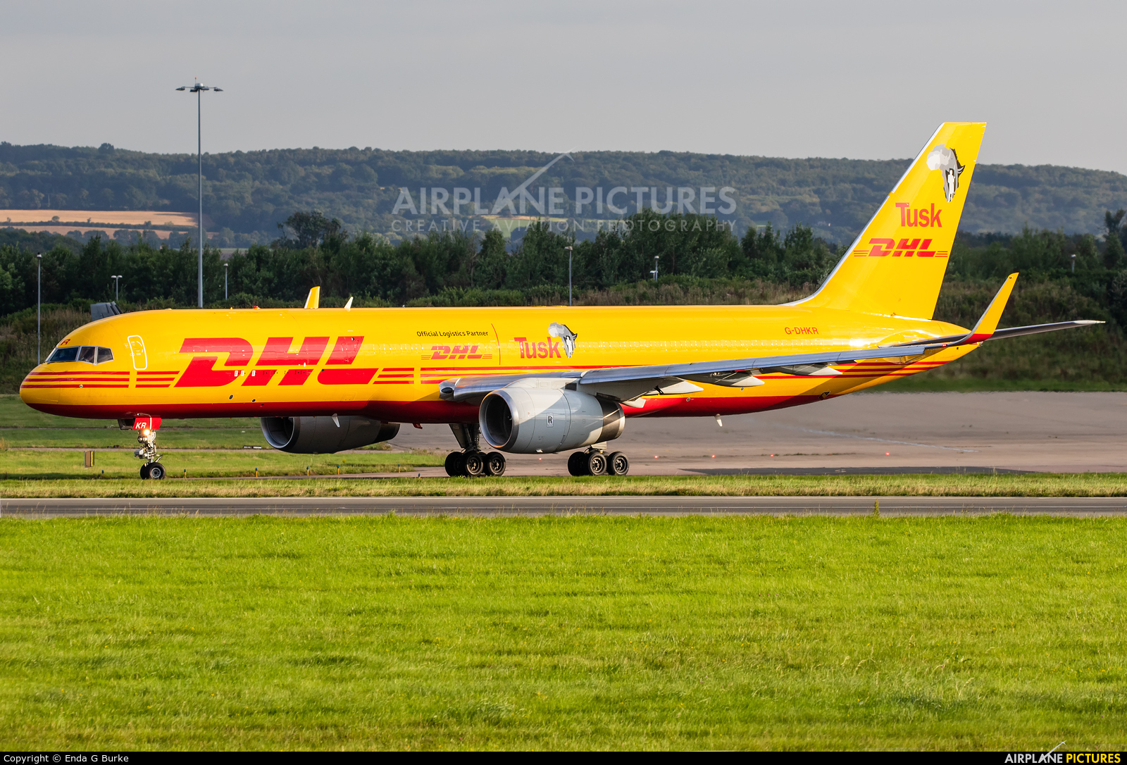 DHL Cargo G-DHKR aircraft at East Midlands
